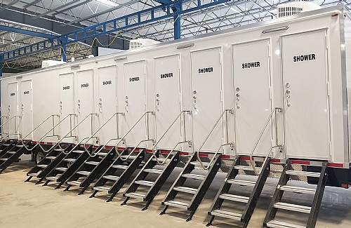 PRO Series Shower Trailers