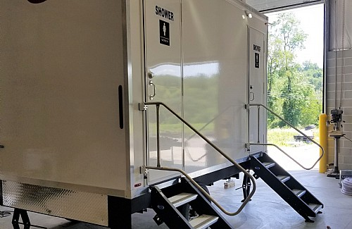 ECO Series Shower Trailers